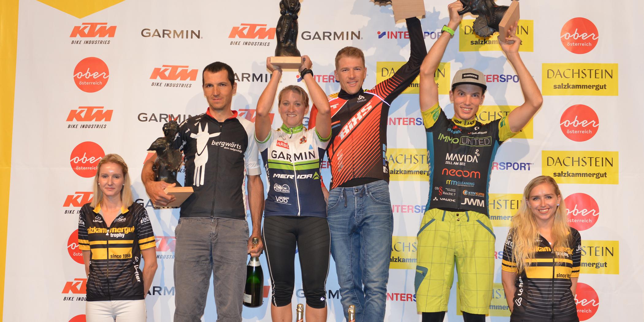 Salzkammergut Trophy 2019 - Siegerehrung Marathon (Foto:Gamsjäger)