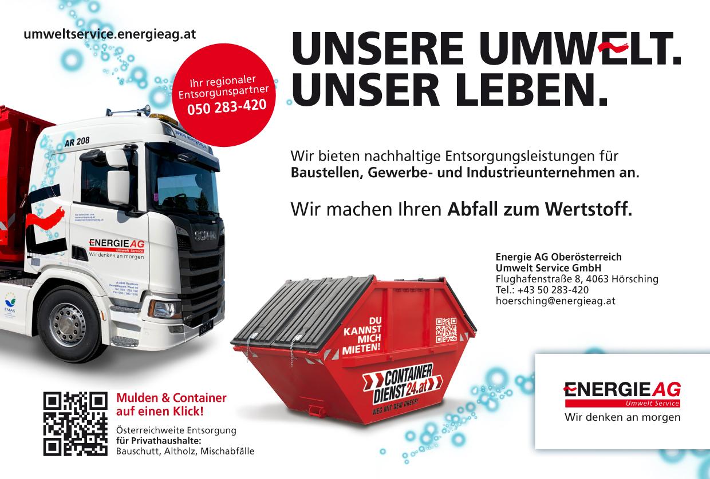 Anzeige Energie AG Umwelt Service