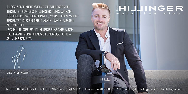 Inserat Weingut Leo Hillinger