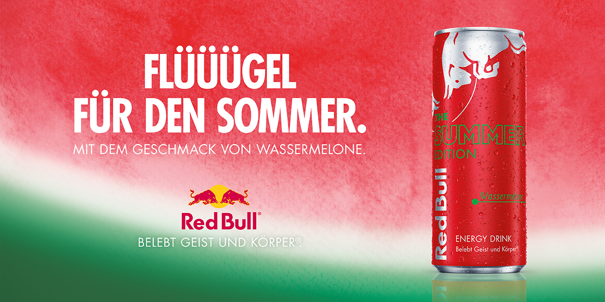Anzeige Red Bull