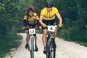 Katzmayer Gerhard und Siragusano Andreas (Foto: Salzkammergut Trophy 1998)