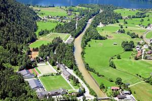 Außenansicht Bundesport- und Freizeitzentrum Obertraun