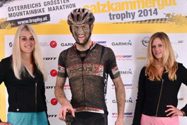 Uwe Hohenwarter Sieger Salzkammergut Trophy 2014 Strecke E (Foto: Sportograf)