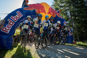 Salzkammergut Trophy 2016 - Start Einrad-Downhill (Foto: Martin Bihounek)