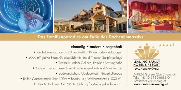 Anzeige Leading Family Hotel & Resort Dachsteinkönig