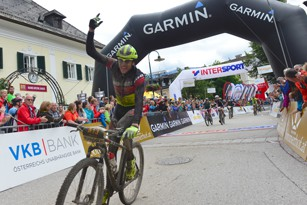 Konny Looser (SUI) - Sieger Salzkammergut Trophy 2017 - Strecke A (Foto: Joachim Gamsjäger)