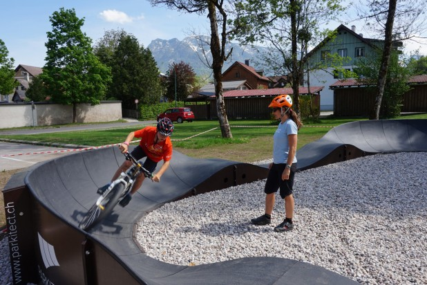 Pumptrack-Premiere bei der Trophy!