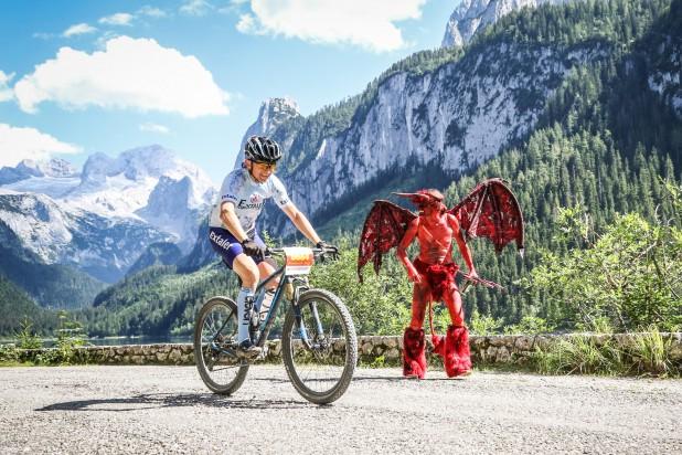 Salzkammergut Mountainbike Trophy 2018 - Teufel am Gosausee (Foto: sportograf)