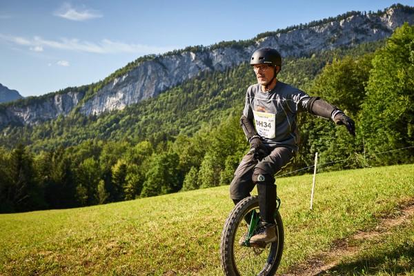 Salzkammergut Trophy - Einrad-Downhill (Foto: Martin Bihounek)