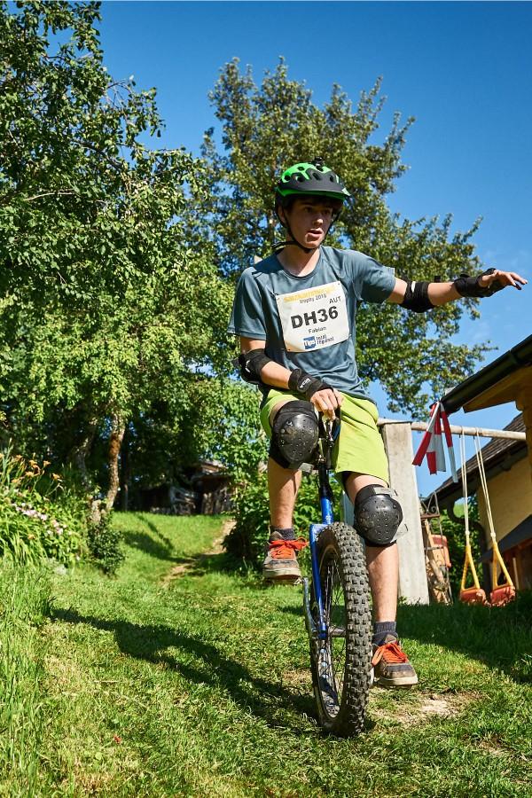 Salzkammergut Trophy - Einrad-Downhill Strecke (Foto: Martin Bihounek)