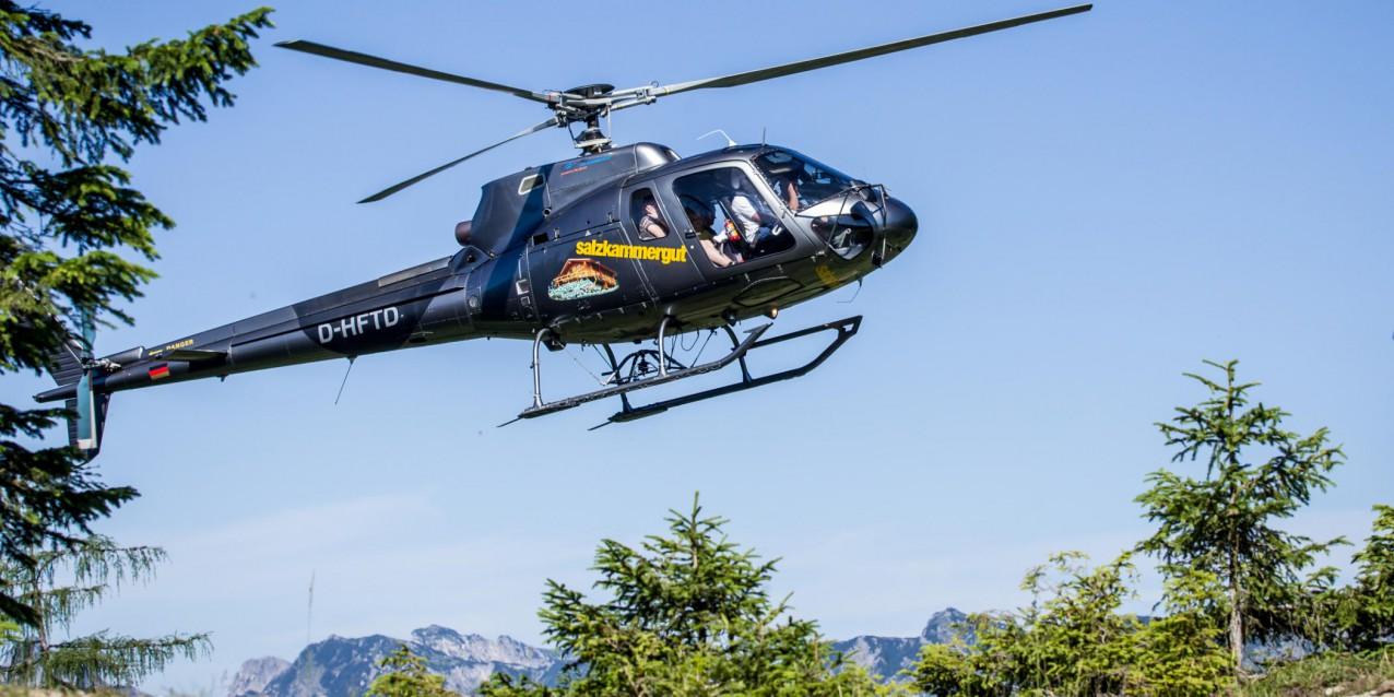 Hubschrauber Rundflug Salzkammergut Trophy by Heli Salzkammergut (Foto: Erwin Haiden)