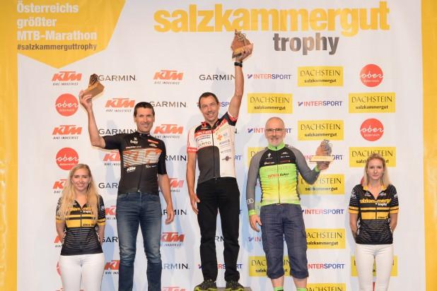 Salzkammergut Trophy - Siegerehrung Marathon (Foto:Gamsjäger)