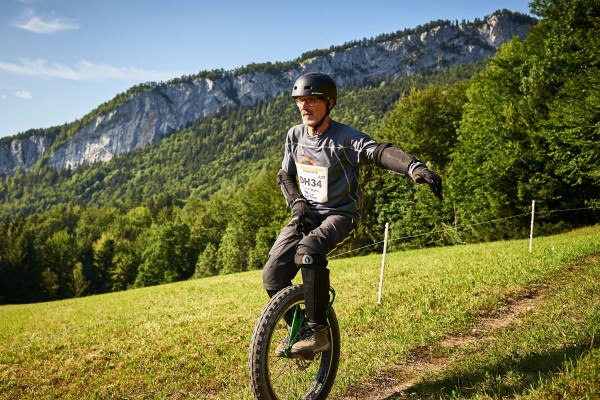Salzkammergut Trophy - Einrad Downhill (Foto: Martin Bihounek)