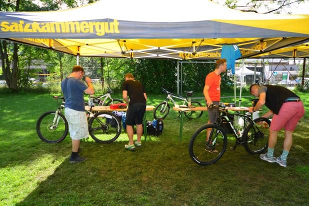 Salzkammergut Trophy Bike Check (Foto: Joachim Gamsjäger)