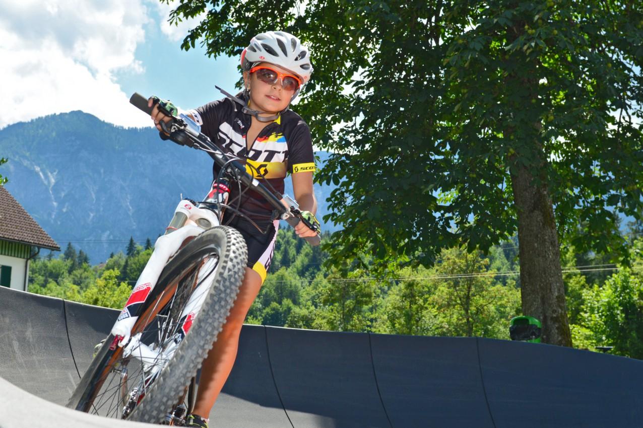 Salzkammergut Mountainbike Trophy 2018 - Pumptrack-Bewerb (Foto: Joachim Gamsjäger)