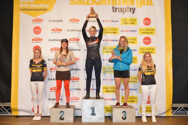 Irina Krenn gewinnt die Regionalwertung auf der B-Strecke 2019 (Foto: Joachim Gamsjäger)