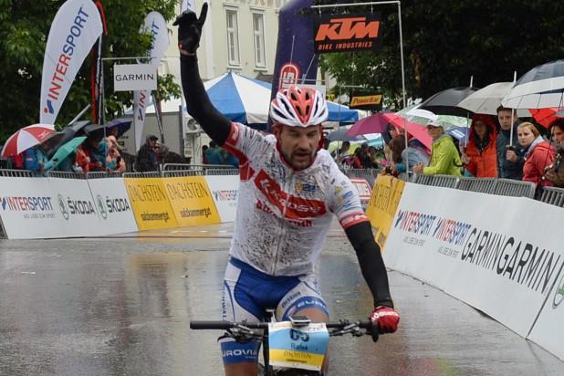 Marek Rauchfuss (CZE) - Sieger Salzkammergut Trophy 2019 - Strecke C (Foto: Joachim Gamsjäger)