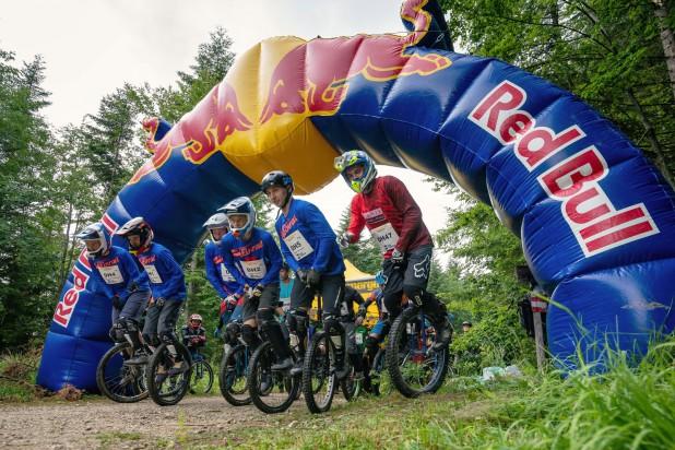 Salzkammergut Trophy 2019 - Einrad-Downhill Start (Foto: Christoph Oberschneider)