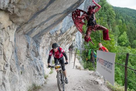 Salzkammergut Mountainbike Trophy 2019 - Teufel in der Ewigen Wand (Foto: Marc Schwarz)