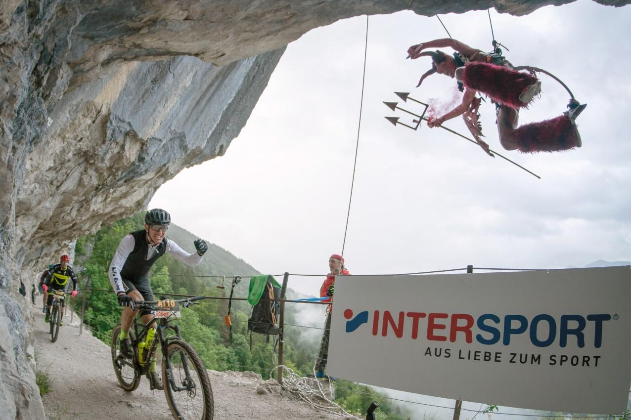 Salzkammergut Mountainbike Trophy 2019 - Teufel in der Ewigen Wand (Foto: Christoph Oberschneider)