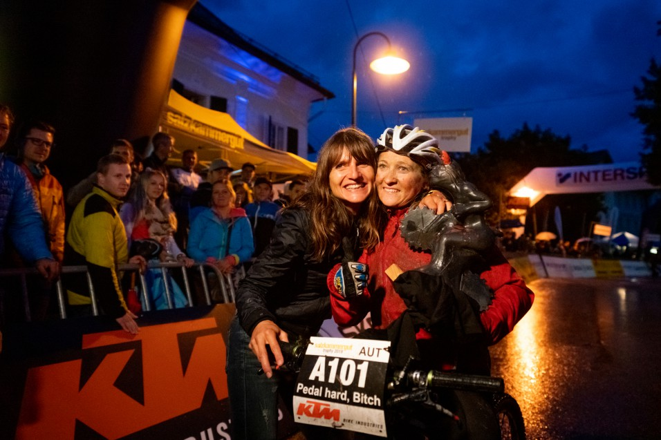 Katharina Fiala (AUT) - 1. Platz Salzkammergut Trophy 2019 - Strecke A (Foto: Christoph Oberschneider)