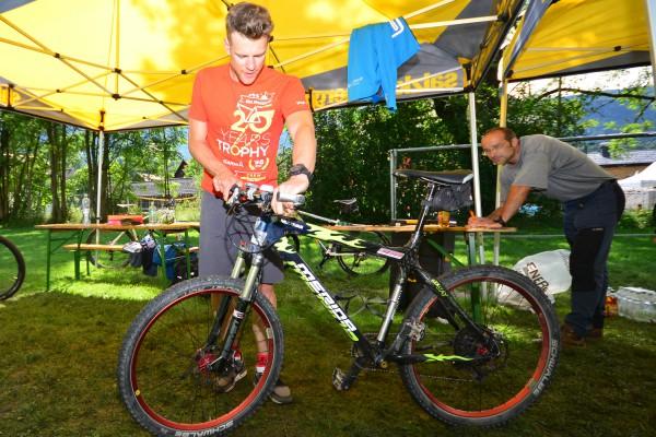 Salzkammergut Trophy - Bike Check (Foto: Joachim Gamsjaeger)