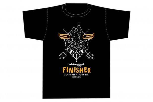 Finisher T-Shirt 2021 schwarz