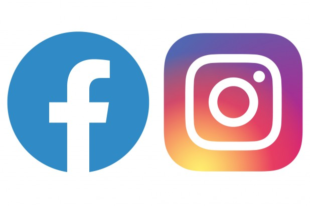 Logo Faceboo und Instagram